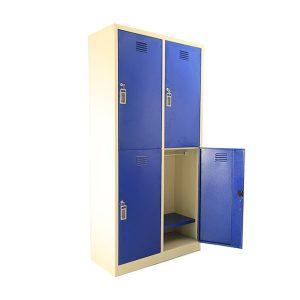 کمد رختکن (جالباسی) ۴ درب فلزی