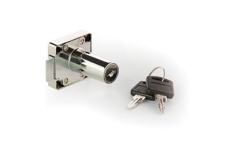 قفل کمد فلزی رونیز - قفل های رونیز - قیمت قفل Roniz تاشو مشکی