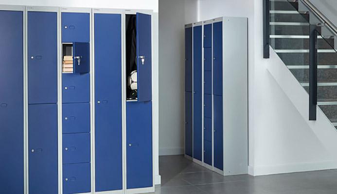 تجهیزات و لوازم اداری فلزی 1 - کمد بایگانی و کمد رختکن و لباس
