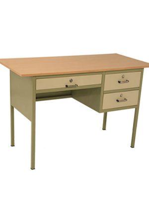 میز سه کشو معلم