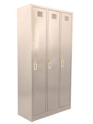کمد رختکن (جالباسی) 3 درب فلزی