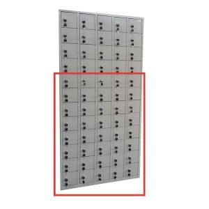 کمد جاموبایلی فلزی 40 سلول